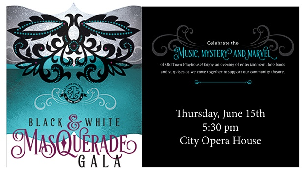 Old Town Playhouse Black and White Gala in Downtown Traverse City