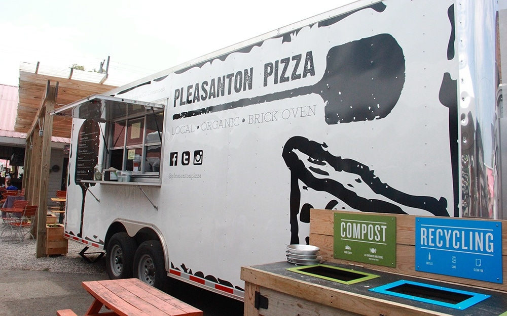 Pleasanton Pizza Traverse City Food Truck