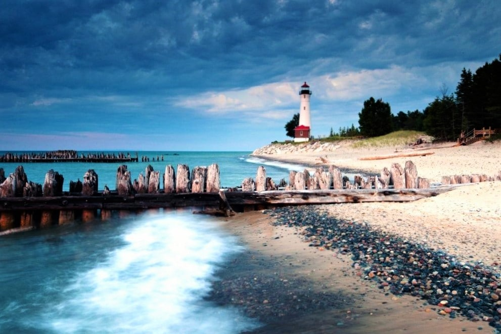 St Ignace Crisp Pt Light