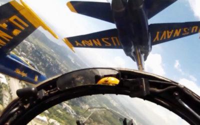 Video: U.S. Navy Blue Angels Lt. Andy Talbott Talks Cherry Festival Air Shows