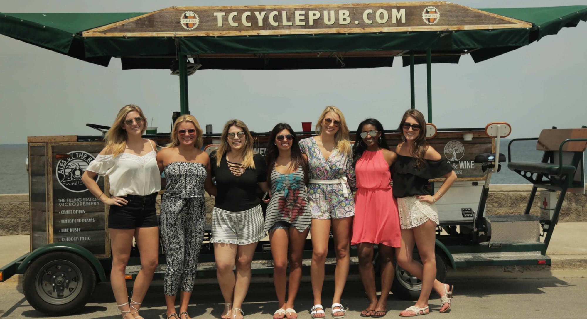 Traverse city brewery tours with tc cycle pub for Craft shows in traverse city mi