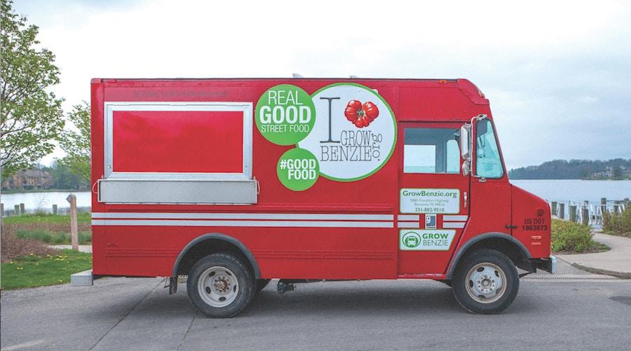grow benzie food truck