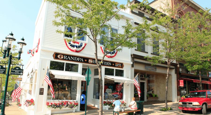 petoskey stone souvenir shops