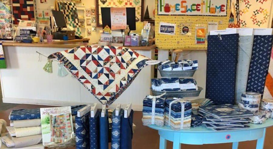 Northern Michigan Quilt Shops