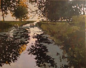 The Canal 60x48 oil $4350(FAM)