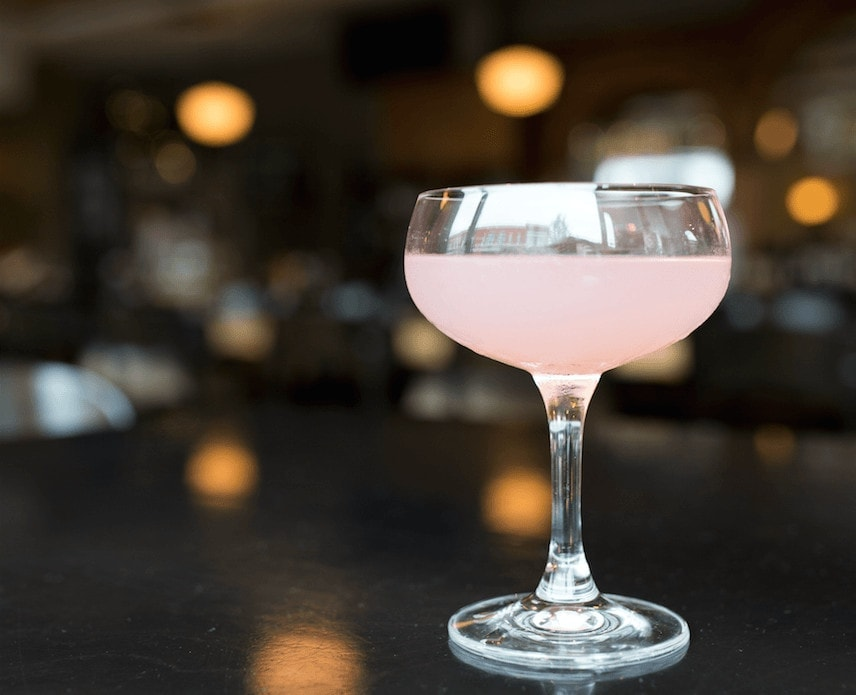 The Olivia de Havilland Cocktail is also available at The Franklin and Trattoria Stella.