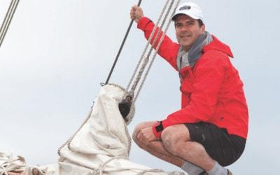 Blind Traverse City Sailor Scott Ford Beats All Odds