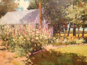 The Rural Garden 40x30 oil $1950(FAM)