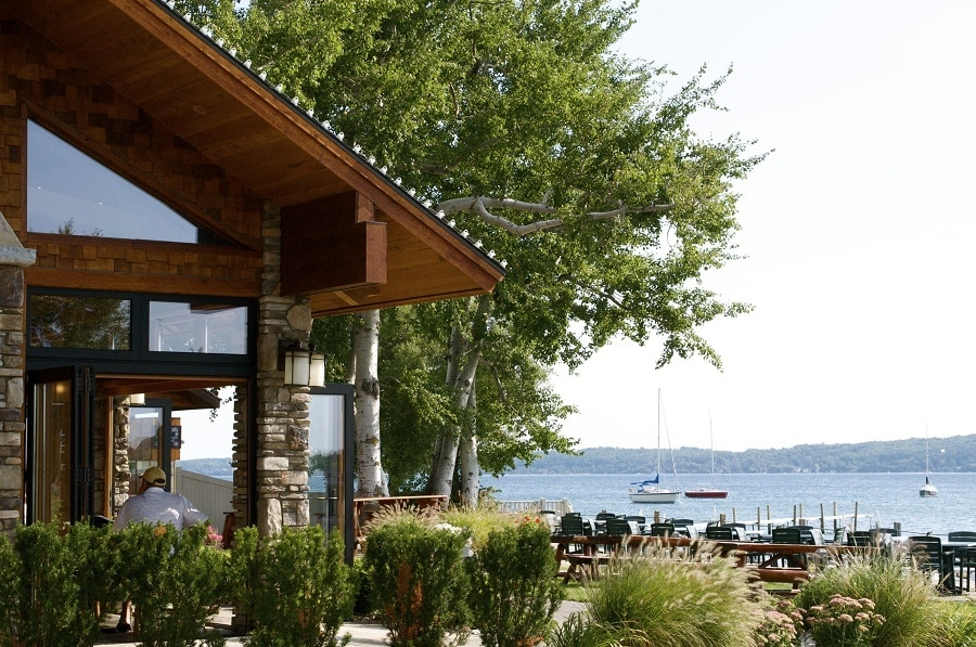 Northern Michigan Outdoor Dining