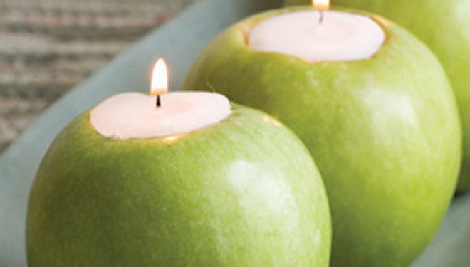 apple tealight