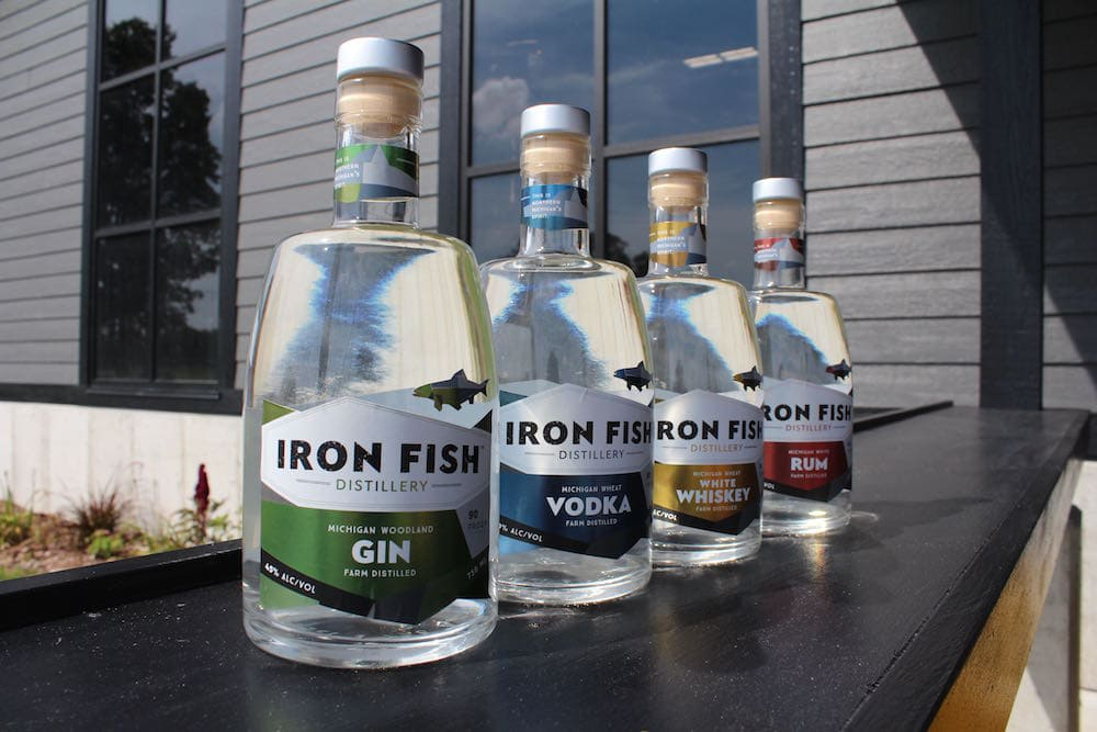spirits flowing at iron fish distillery in thompsonville
