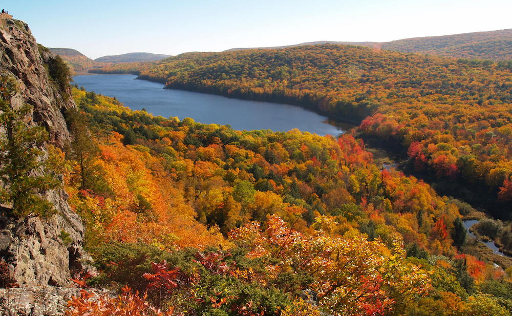 Porcupine Mountains_Lake of the Clouds