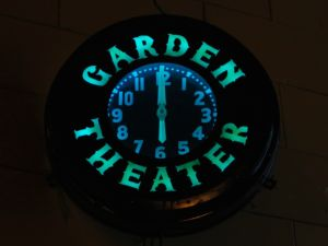 Garden Theater Clock
