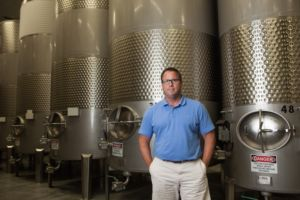 Eddie O'Keefe of Chateau Grand Traverse
