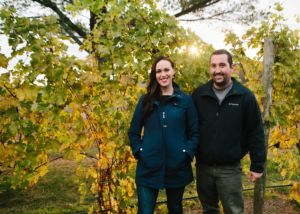 Creighton and McKenzie Gallagher, owners of Rove Estate