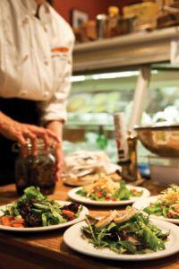 Jen Blakeslee plates salads