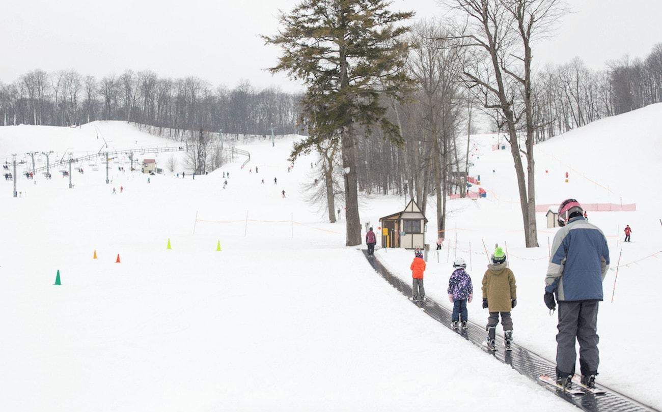 Michigan beginner ski resorts