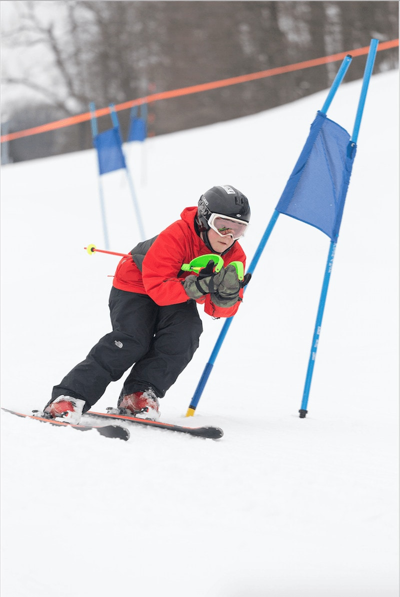Michigan intermediate ski resorts