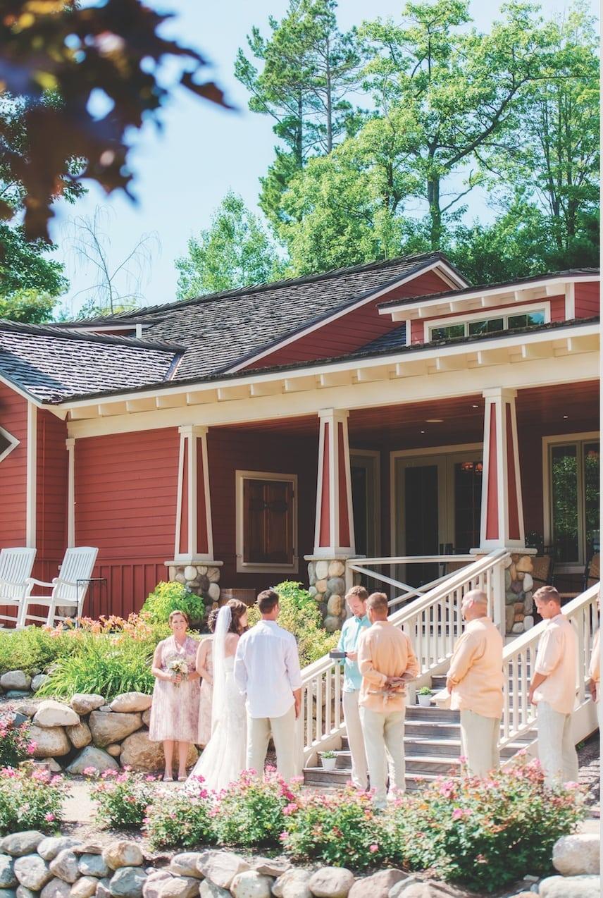 casual summer wedding at the homestead mynorth com