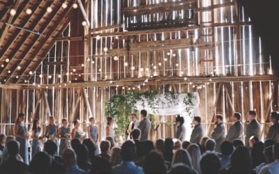 Breathtaking Barn Wedding at Charlevoix Country Club (with Pistons star Bill Laimbeer!)