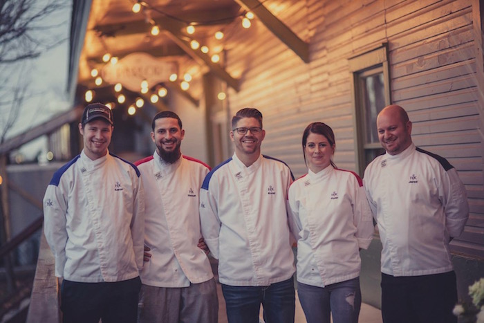 The Parlor Hosts Gourmet Dinner Prepared By Hell S Kitchen Chefs