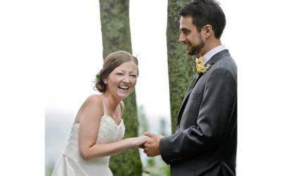 Bride Stefani Pentiuk Thompson: Joy and Hope