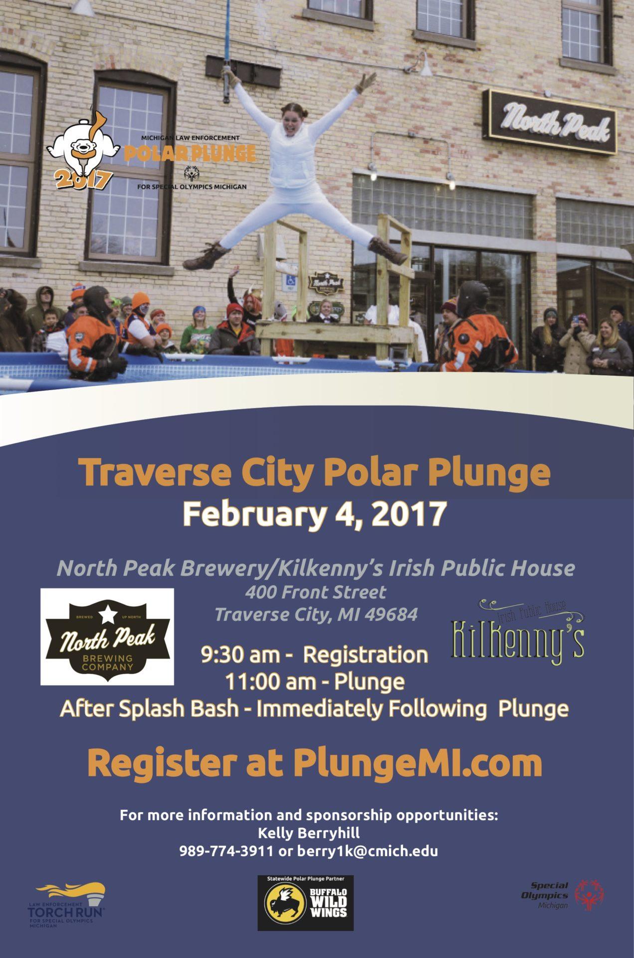 Traverse city polar plunge for Craft shows in traverse city mi