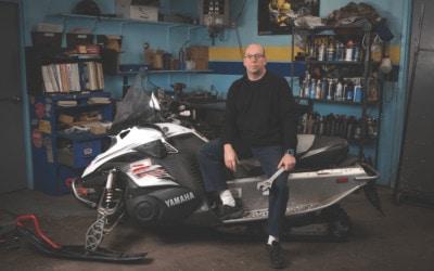Snowmobile Cognoscenti at Dave's Yamaha Suzuki Shares Winter Wisdom