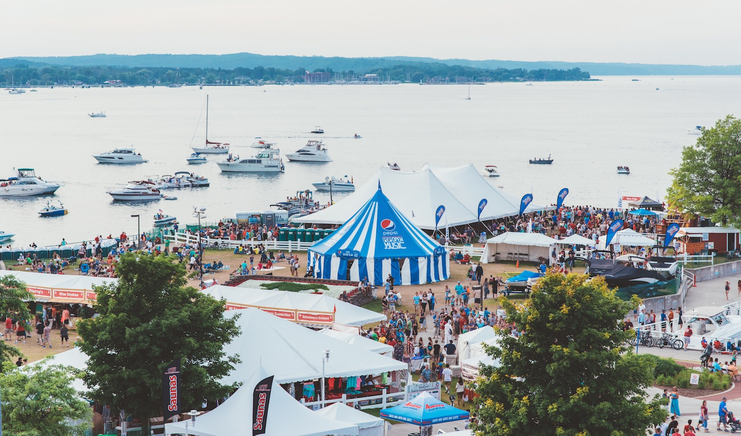 National cherry festival tickets on sale for 2018 for Craft shows in traverse city mi