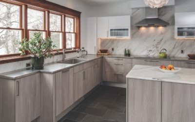 Four White Kitchens, Four Looks for Your Northern Michigan Home