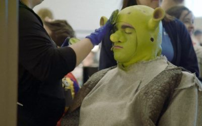"""Video: Behind-The-Scenes of Traverse City West's Production of """"Shrek"""""""
