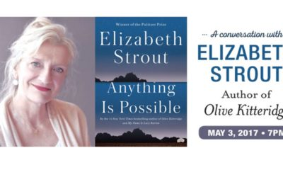 National Writers Series Presents An Evening with Elizabeth Strout: A Preview