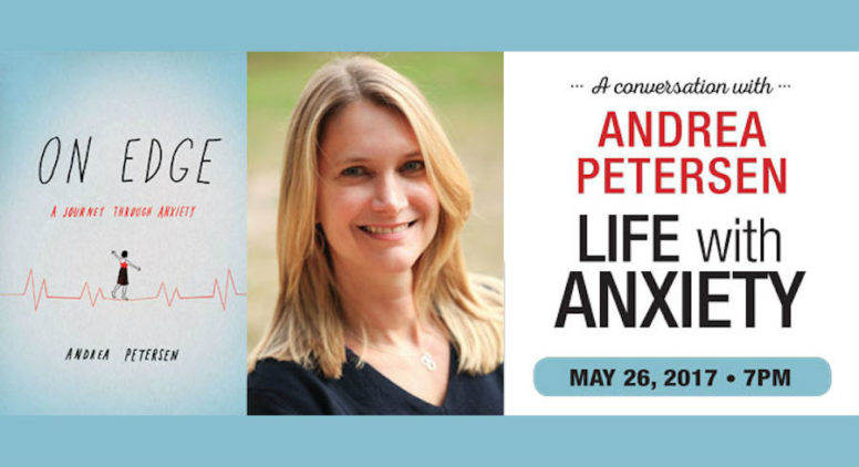 Andrea Petersen Explains Her Journey Through Anxiety at National Writers Series