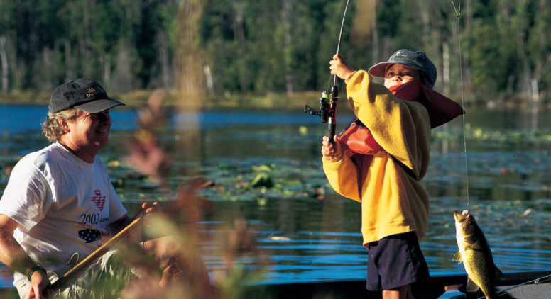 Enjoy Michigan's Lakes and Rivers on Free Fishing Weekend June 10–11