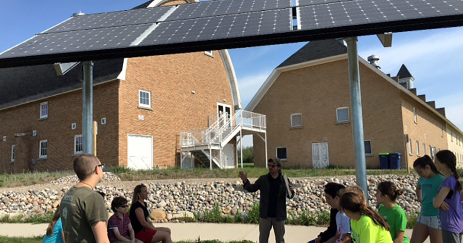 Seeds Launches Energy Farm Exhibits At Historic Barns Park