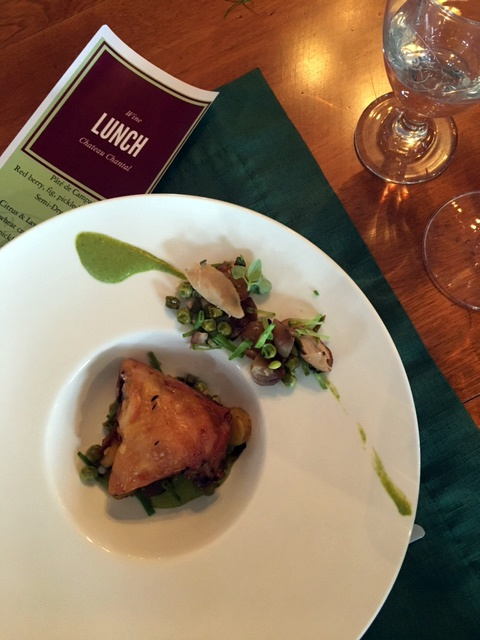 Chateau Chantal wine lunch