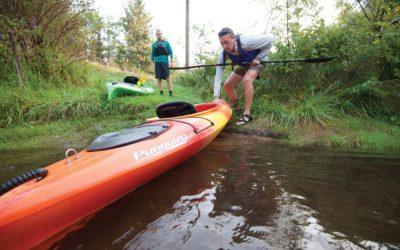 Sunrise Paddle: Kayak Traverse City's Boardman River
