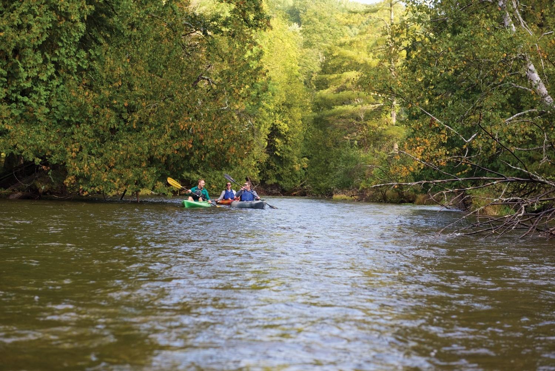 kayaking boardman river