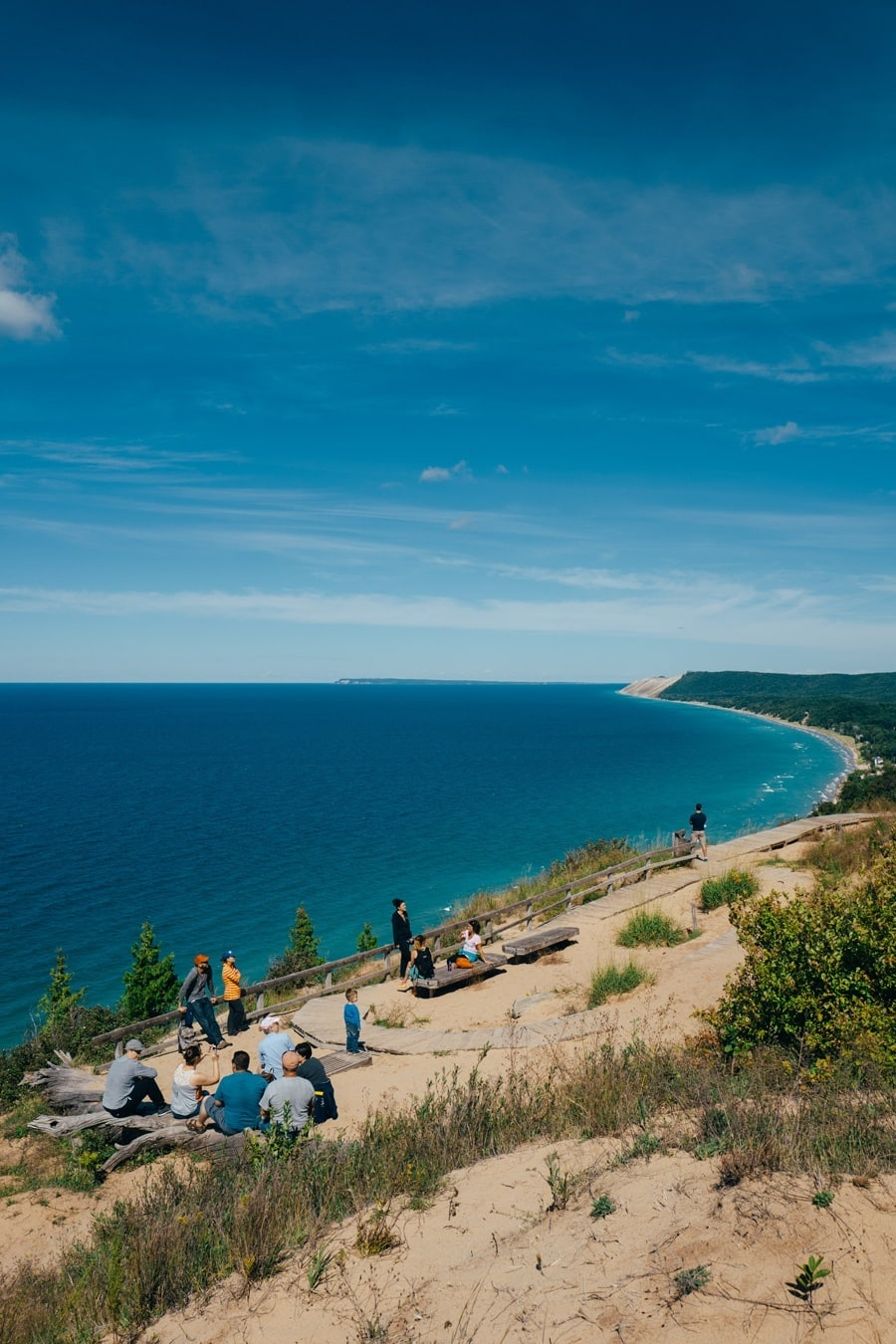 Whopping 111 2 Square Miles And Covers 35 Of Breathtaking Sline Along Lake Michigan It Was Named The Most Beautiful Place In America By Good