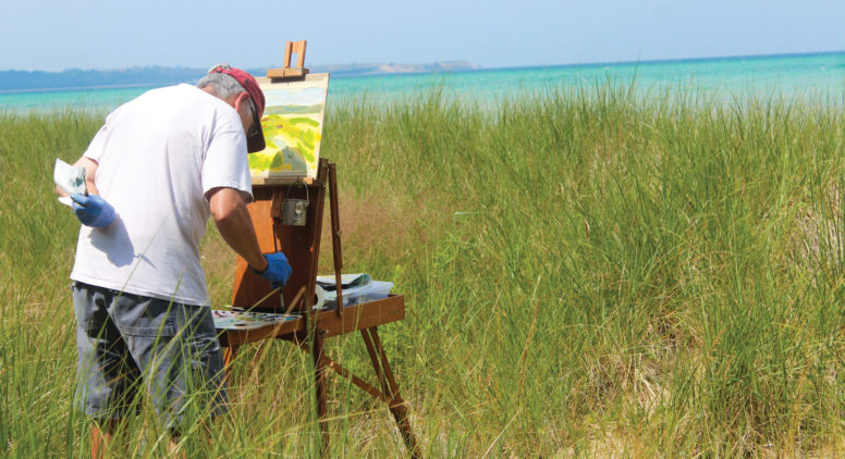 Canvas, Easel, Go! Plein Air Painting in Northern Michigan