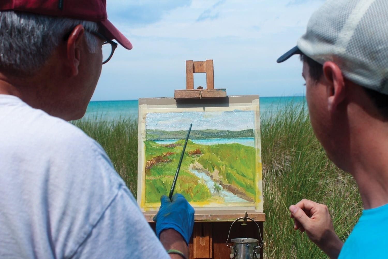 plein air painting