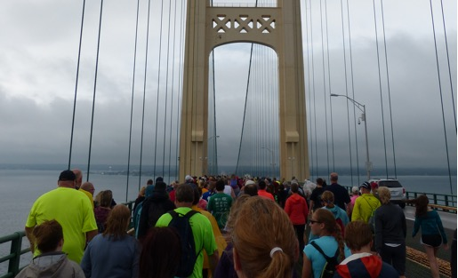 Mighty Mackinac Bridge Fun: MINI on the Mack & Bridge Walk 2017