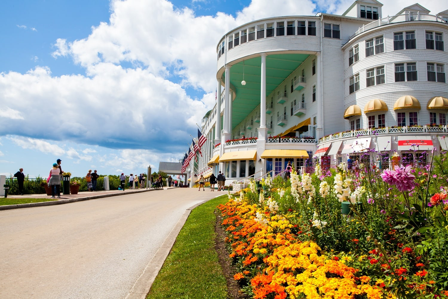 Restaurants At The Grand Hotel Mackinac Island