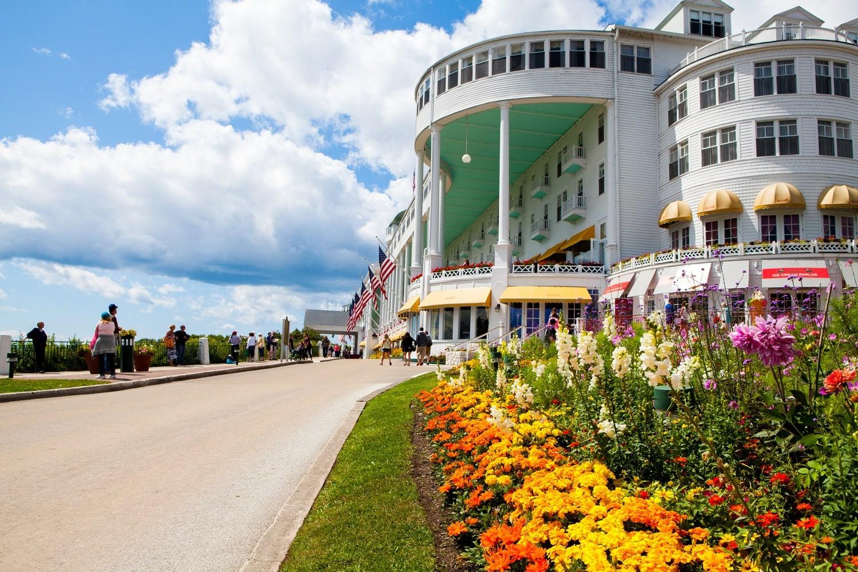 The Grand Hotel Mackinac Island Michigan