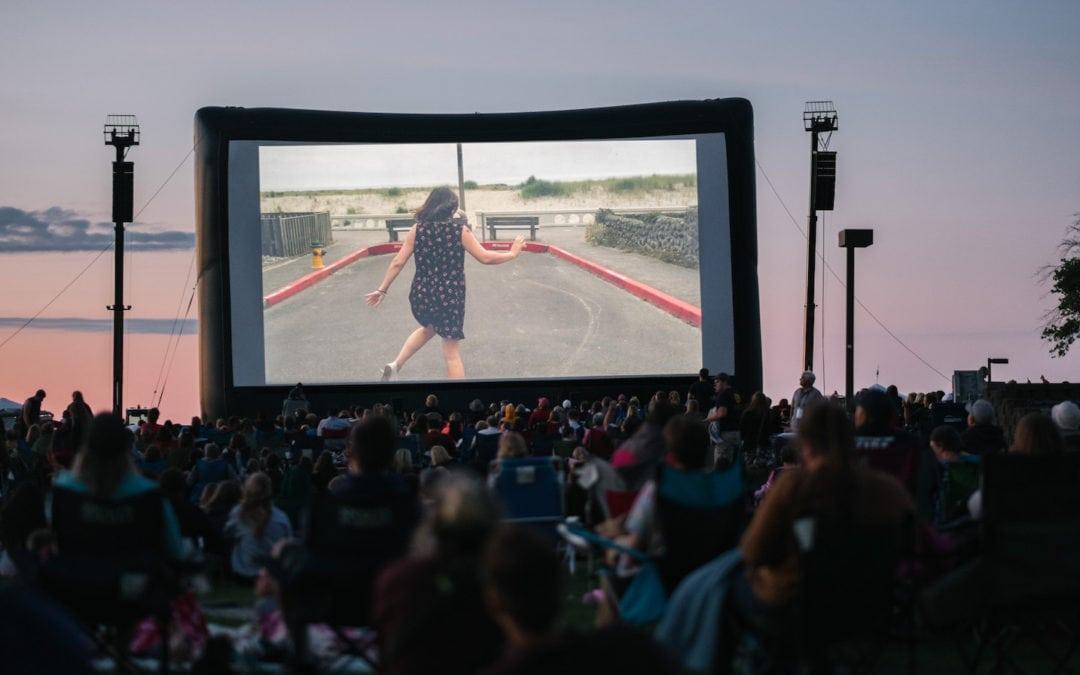 Traverse City Film Festival open space