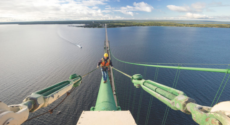 Keeping the Mighty in the Mac: Meet The People Who Maintain the Mackinac Bridge