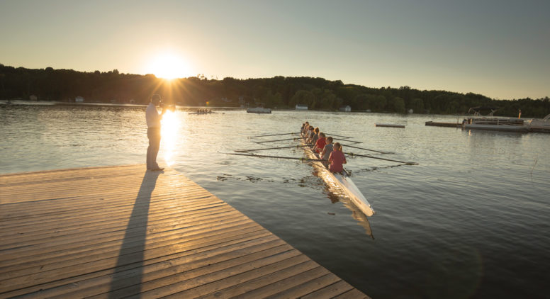 Rowing on the Rise: Competitive Rowing Takes Off on Lake Leelanau