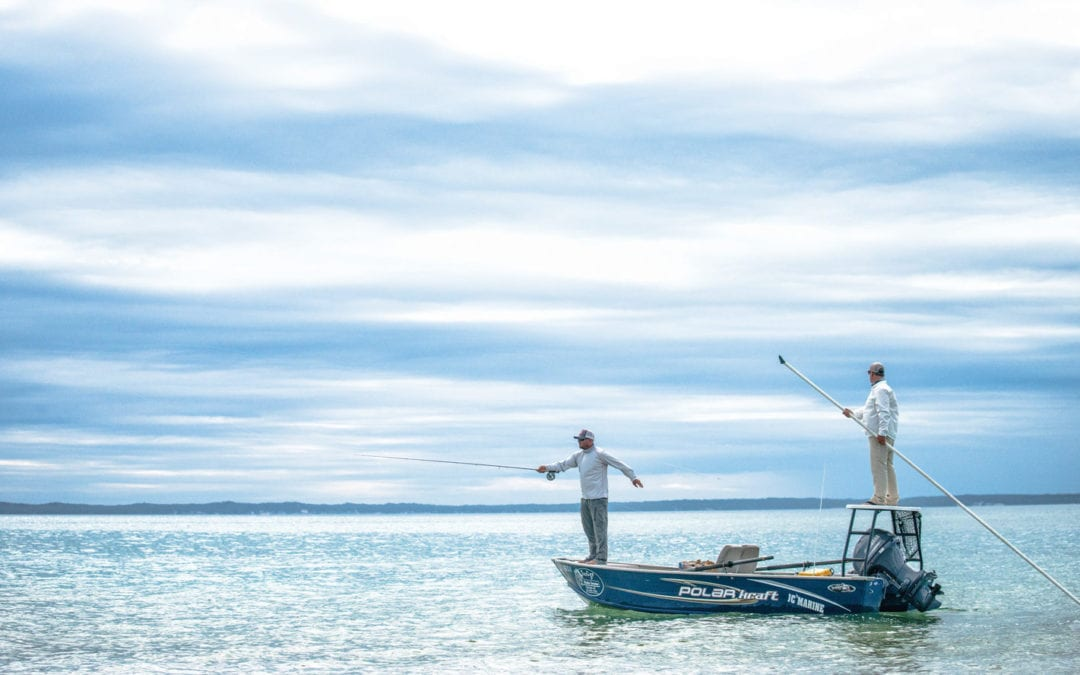carp fishing, beaver island fishing