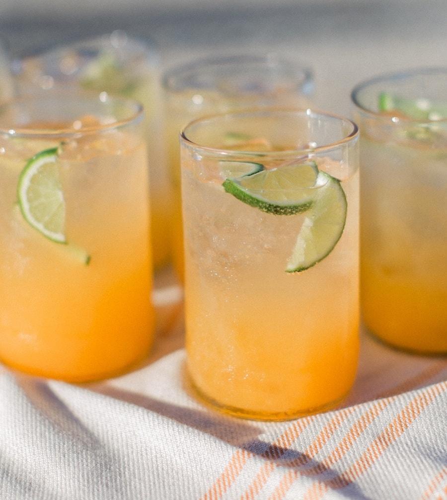 Cantaloupe-Lime Agua Fresca - MyNorth.com