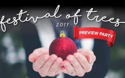 Festival of Trees Preview Party Features New Friendly Community Challenge